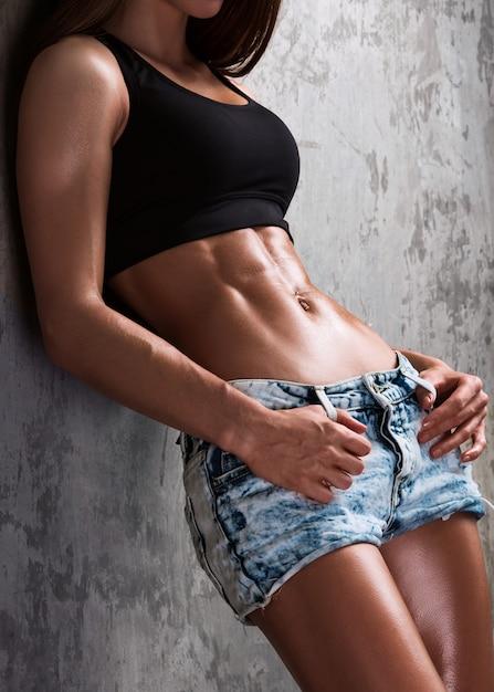 Cuerpo saludable Foto Premium