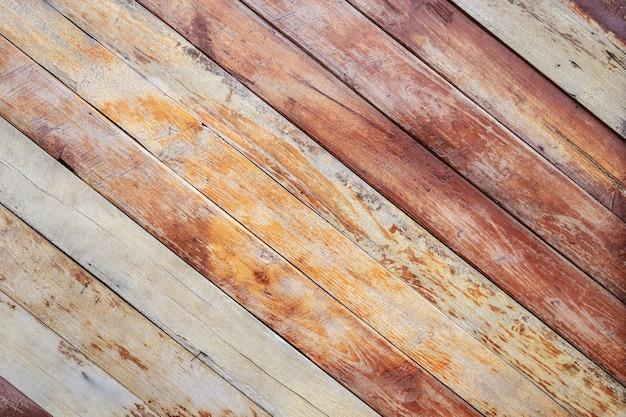 Decking De Madera Exterior Antiguo O Suelos En La Terraza