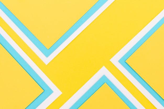 Decoración colorida de hojas de papel Foto Premium
