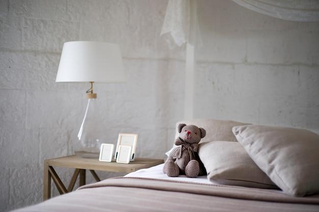 Decoración de dormitorio Foto gratis