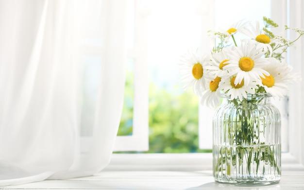 Decoración de ventanas Foto Premium
