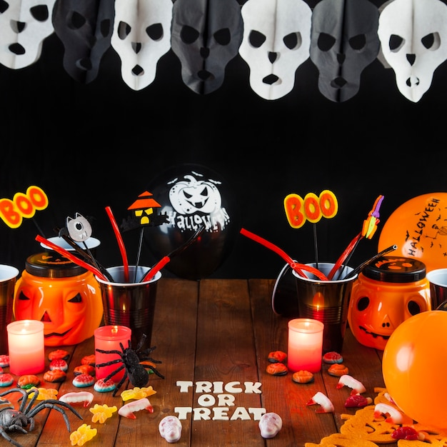 Decoraciones de halloween para la fiesta descargar fotos - Decoracion de halloween para fiestas ...