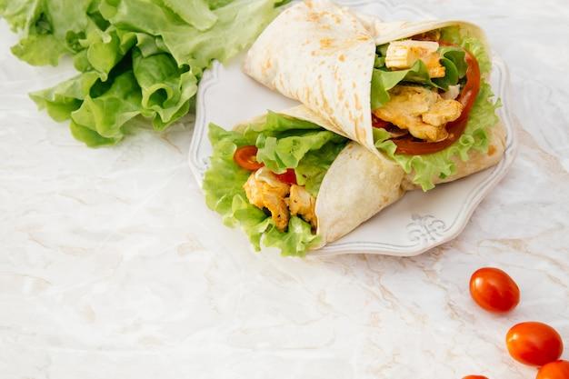 Deliciosa tortilla Foto gratis