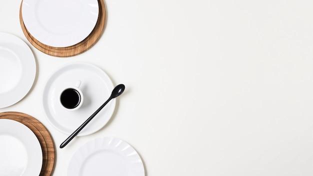 Delicioso café de la mañana con espacio de copia Foto gratis