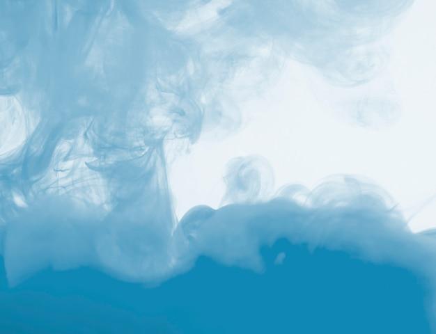 Densa nube azul de neblina Foto gratis