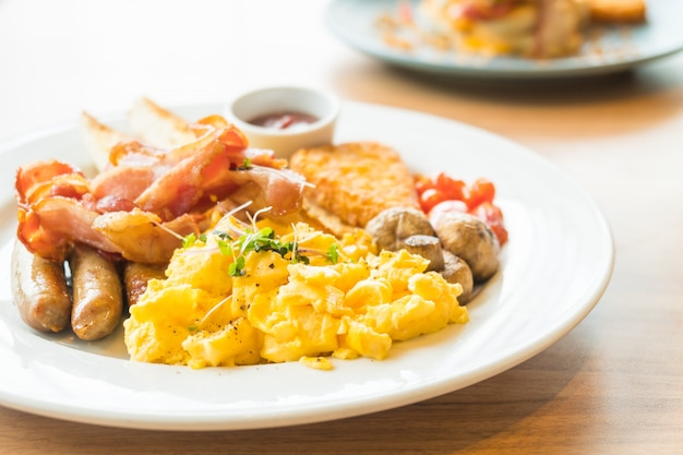 Desayuno inglés Foto gratis