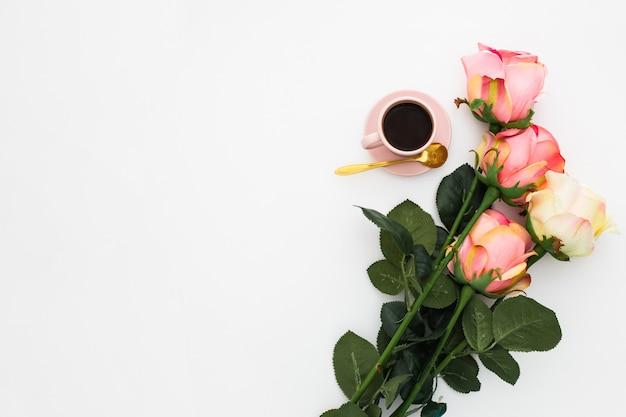 Desayuno romantico Foto gratis