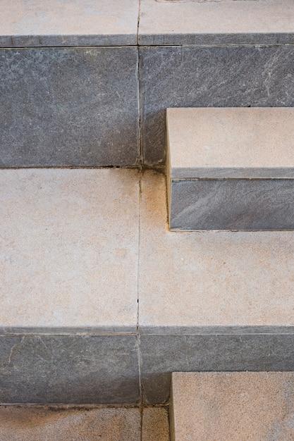 Detalle de escaleras urbanas Foto gratis
