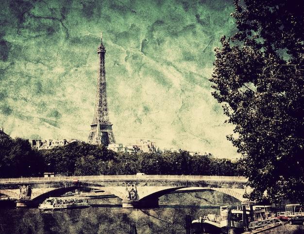 Dibujo de paris Foto gratis