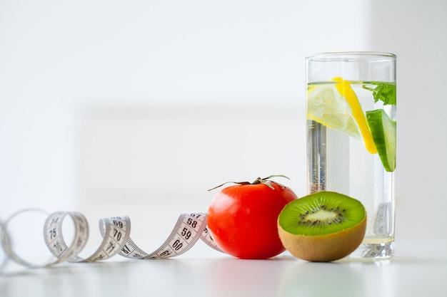 Dieta de frutas y agua