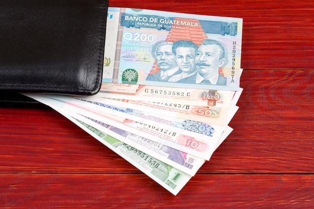 Dinero de guatemala Foto Premium