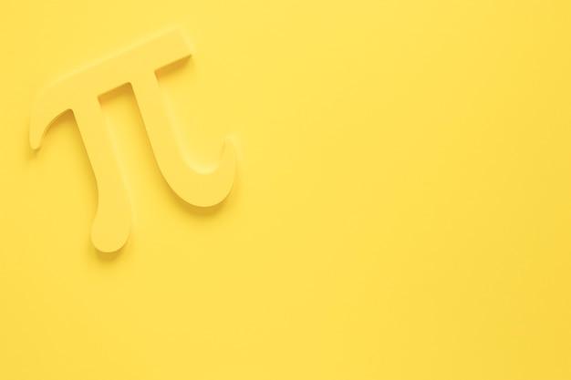 Diseño monocromo de ciencia real pi símbolo Foto gratis