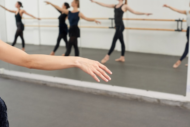 Disfrutando del ballet Foto gratis
