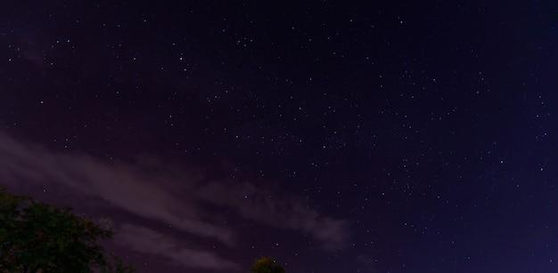 Disparo colorido del espacio mostrando la galaxia de la vía láctea del universo. Foto Premium