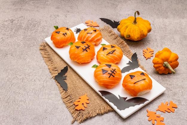 comida sana para halloween
