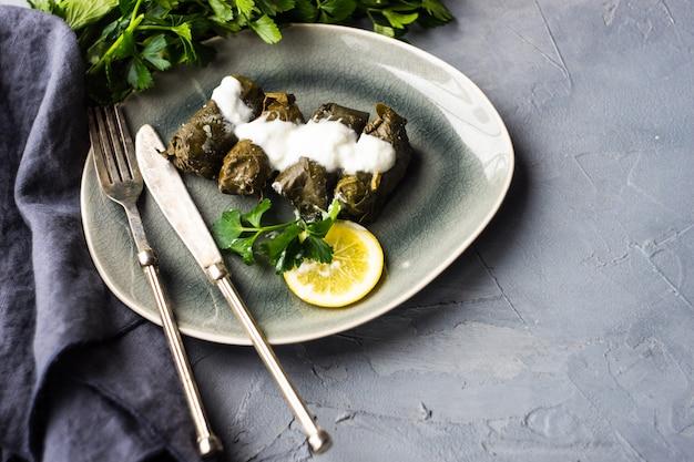 Dolma - plato tradicional georgiano Foto Premium