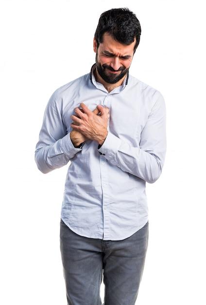 Dolor de pecho adulto persona masculina | Descargar Fotos gratis
