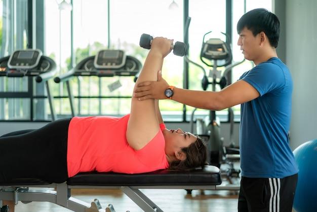 programa de entrenamiento de tipo gordo