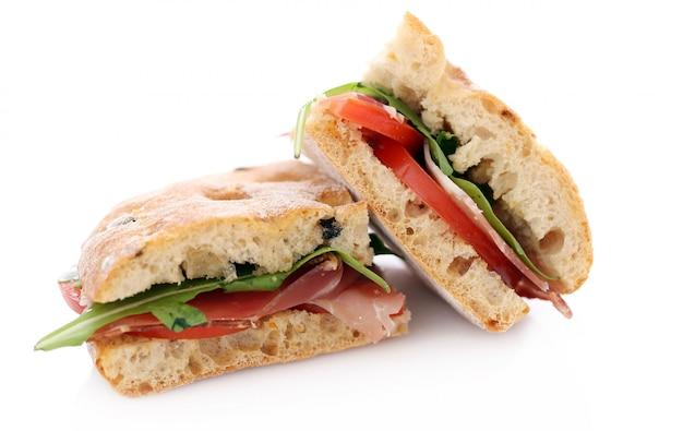 Dos deliciosos sandwiches Foto gratis