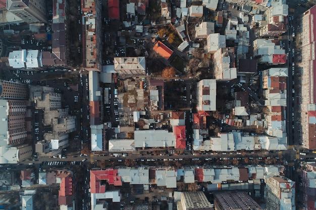 Drone shot de armenia ereván Foto gratis