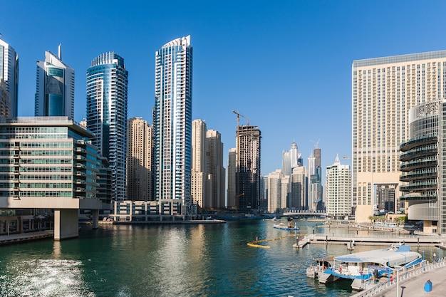 Dubai marina Foto gratis