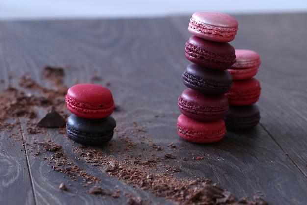 Dulces dulces con chocolate Foto gratis