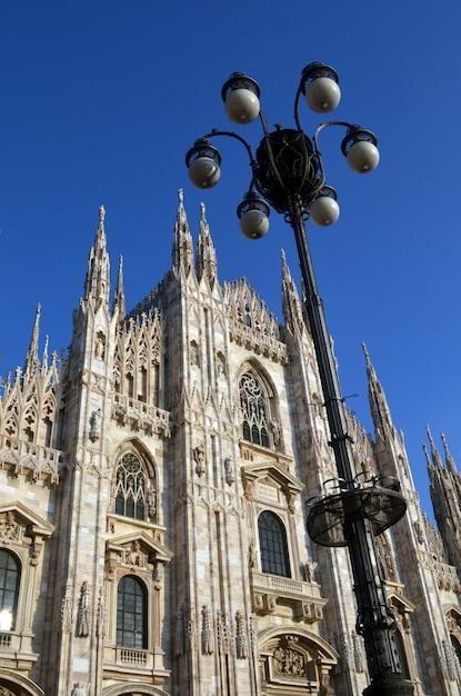 Duomo de milán Foto gratis