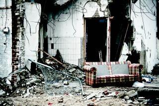 edificio abandonado de desastres Foto Gratis