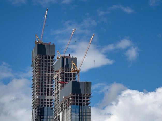 Edificio en construccion Foto Premium