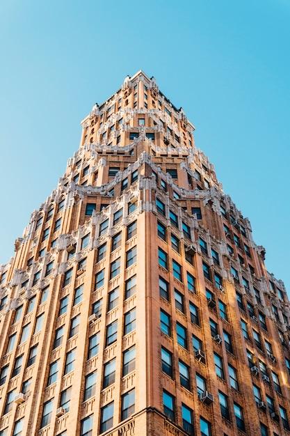 Edificio en nueva york Foto gratis