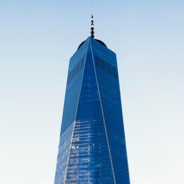 Edificio de rascacielos de alto negocio Foto gratis