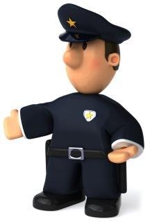 el oficial de policía Foto Gratis