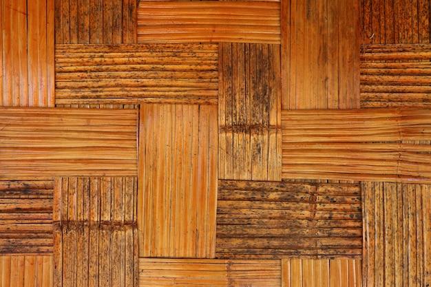 Elaboracion De Fondo De Bambu Marron Seco De La Pared Del Modelo - Bambu-seco