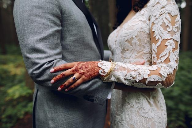Elegante boda india Foto gratis