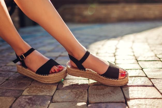 Sandalias Cuña para Mujer