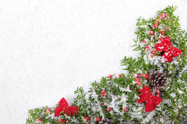 Elementos decorativos de navidad en la nieve descargar - Decorativos de navidad ...