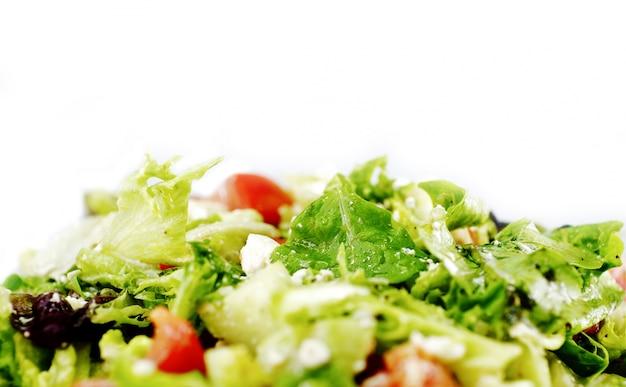 Ensalada de verduras frescas Foto gratis