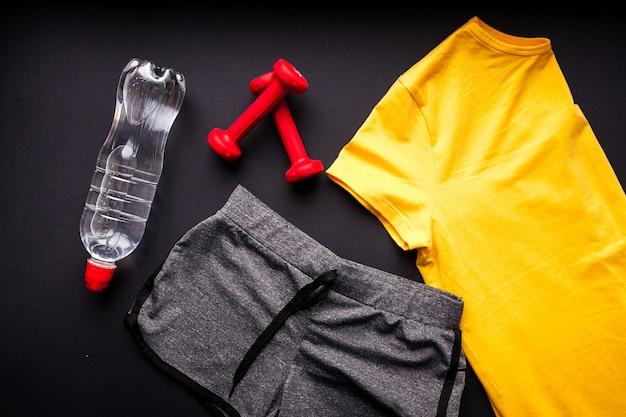 Entrenamiento bpa ropa deporte kit Foto Premium