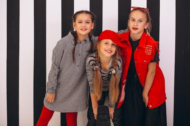 Equipo de baile en estudio Foto gratis