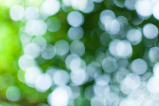 Escena de naturaleza abstracta borrosa con bokeh Foto Premium