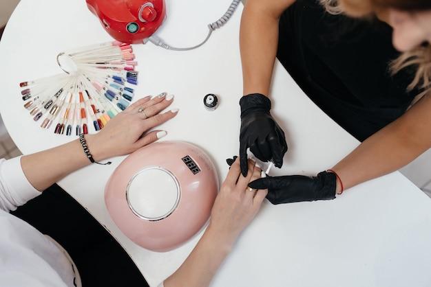 Esmalte de uñas Foto Premium