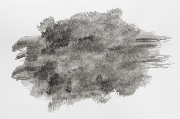 Espacio de copia de pintura acuarela negra Foto gratis
