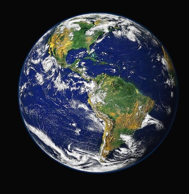 Espacio Globo Planeta Tierra Mundo Descargar Fotos Gratis