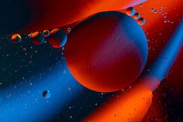 Espacio o planetas universo cósmico abstracto. Foto Premium