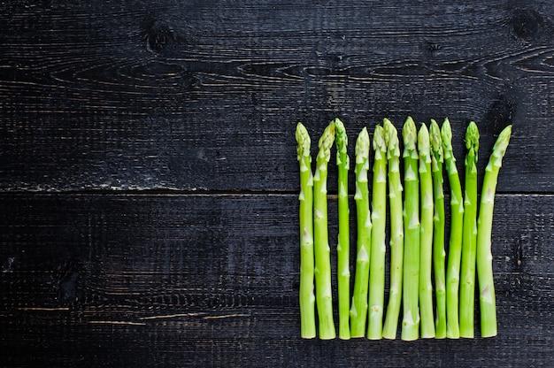 Espárragos verdes. Foto Premium