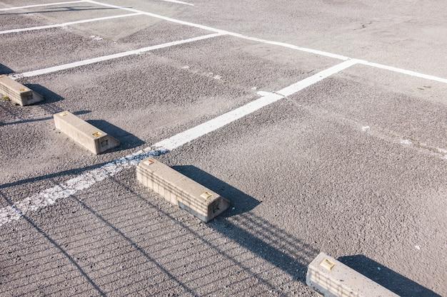 Estacionamiento vacío Foto Premium