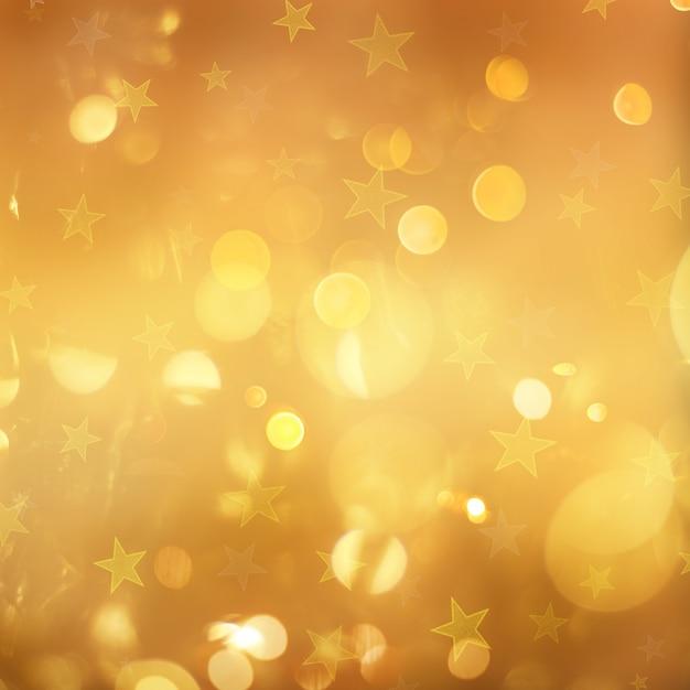 Estrella de navidad Foto gratis