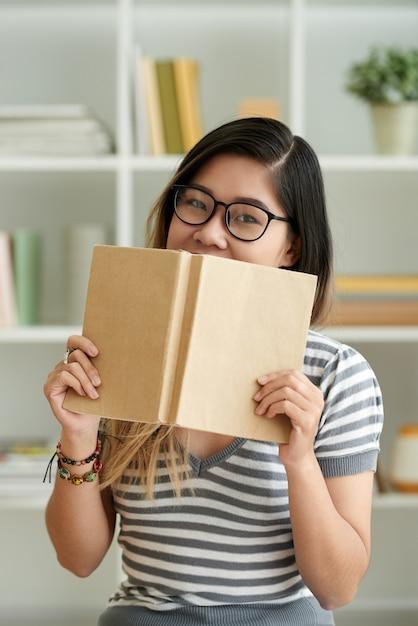 Estudiante inteligente Foto gratis