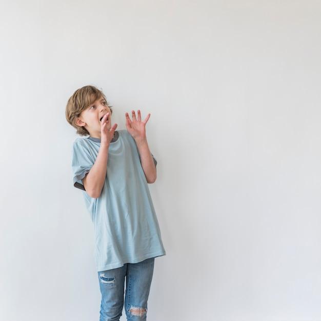 Expresiones de niños Foto gratis