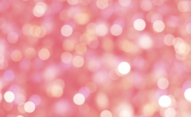 Extracto Del Fondo En Colores Pastel Rosado Del Bokeh